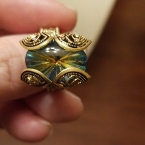Vintage Germany Mystic Topaz Ring